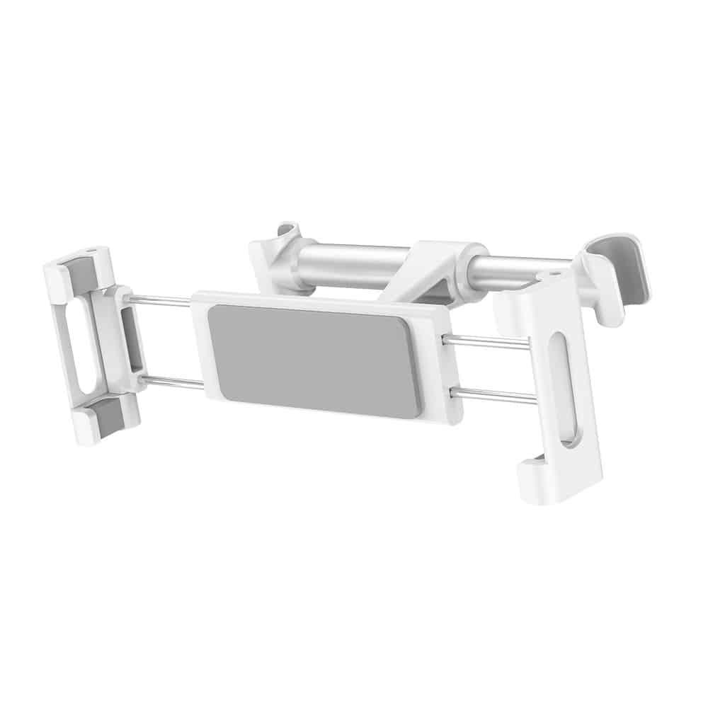 Baseus SHUZ aluminijumski držač mobilnog telefona ili tableta za kola koji se montira na naslon prednjih sedišta. Podrška za telefone veličine 4-10 inča