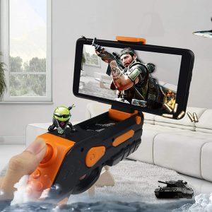 AR GUN pištolj za igranje igrica iz prvog lica. Podrška za Android i iOS telefone.