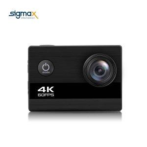 """SPECIFIKACIJA Senzor slike i CPU 16 MPix CMOS-Senzor, SONY IMX386, Allwinner v316 Dostupno u bojama CRNA Ekran 2 inča""""LCDpanel Rezolucija fotografija 24Mpix / 20Mpix / 16Mpix / 12Mpix / 8Mpix Video rezolucija 4k 60fps / 2.7k 30fps /1920*1080 120fps / 1280*720 240fps Osnovna rezolucija Video:4K / Fotografije: 24mpix Podržani formati Videoformat:MP4/ Format fotografjia:JPG WiFi Podržava i Android i iOS operativne sisteme Objektiv 173°HD širokougaoni objektiv SHARKEYE 6G Memorija Podržava Micro SD kartice klase UHS1, UHS3 OSDjezici English/French/German/Spanish/Italian/Portuguese/SimpliedChinese/Japanese/TraditionalChinese/Russian/Korean/Polish/Swedish Povezivanje USB2.0,HDMI Trajanje baterije 40-60 minuta u FULL HD režimu (1080P) Baterija Litijum jonska 900Ah Dimenzije 29.8×59.2x41mm Težina 44g(bez baterije),58gsa baterijom Pakovanje 13 dodataka, uključujući i vodootporno kućište + rezervna baterija + elastični držač kamere za kacigu"""
