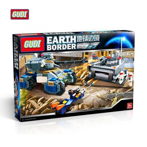 GUDI kocke igračke za decu bunker 8216