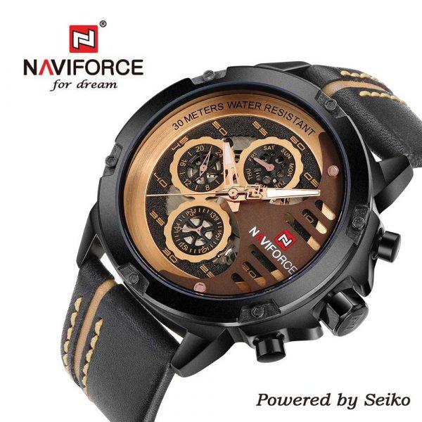 Naviforce-9110-BRGBN muški sat