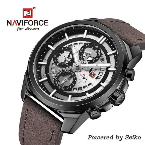 Naviforce-9129-BWGY muški sat